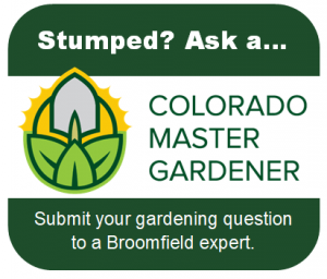 Ask a Master Gardener button