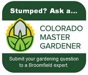 Ask a Master Gardener button