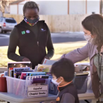 Centennial Outreach by Americorps Volunteer at Broomfield Library
